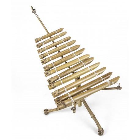 Xilofón bambú