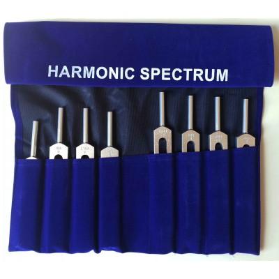 Juego de Diapasones Espectro Armonico Solar 8 piezas