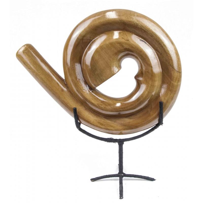 Didgeridoo Espiral natural