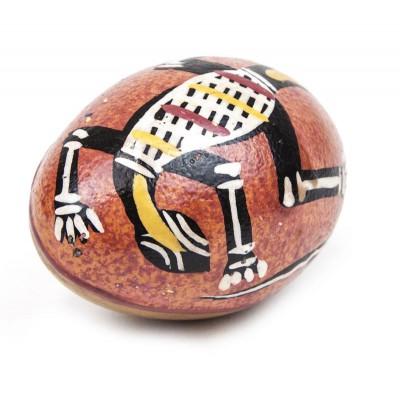 Maraca Huevo decorada