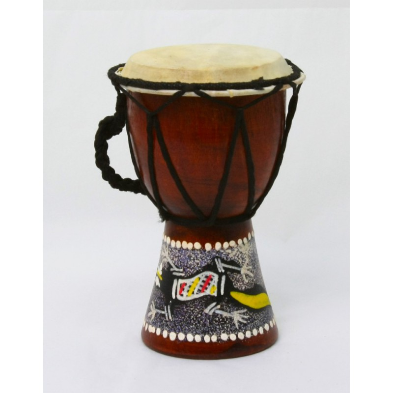 Djembe decorado 15 Ctms