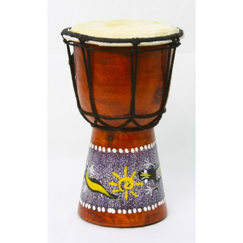 Djembe decorado 20 Ctms