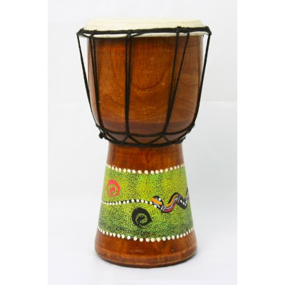 Djembe decorado 25 Ctms