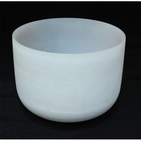 Cuenco de cristal de cuarzo 23 cm