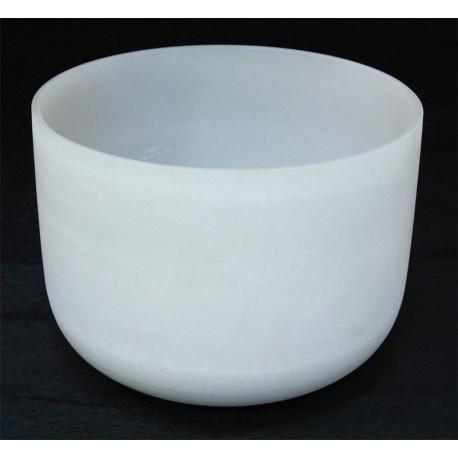 Cuenco de cristal de cuarzo 28 cm