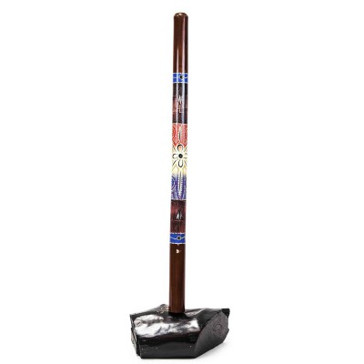 DIDGERIDOO BAMBU DECORADO 120 Ctms + DVD