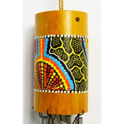 Campana tubular bambú Deco M