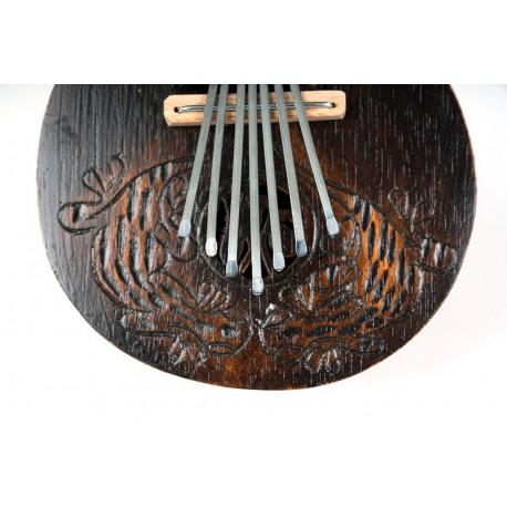 Kalimba tallada fuego S