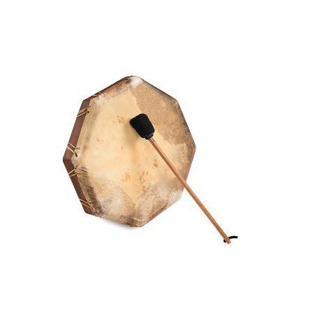 Tambor chamánico natural 40 cm