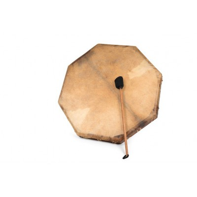 Tambor chamánico natural 60 cm