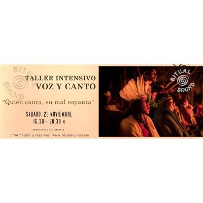 TALLER INTENSIVO VOZ Y CANTO