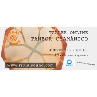 TALLER online TAMBOR CHAMÁNICO