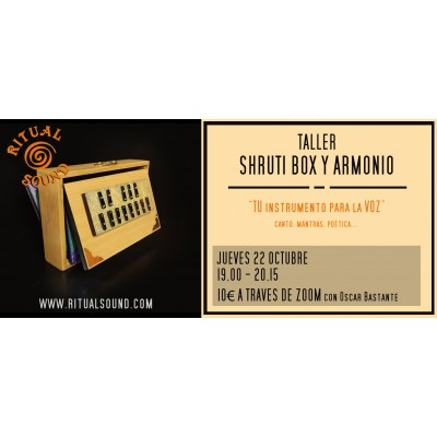 Taller online SHRUTI BOX Y...