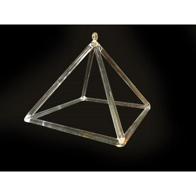Piramide de cristal de...