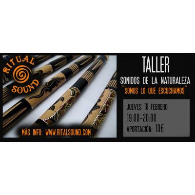 TALLER SONIDOS DE LA...