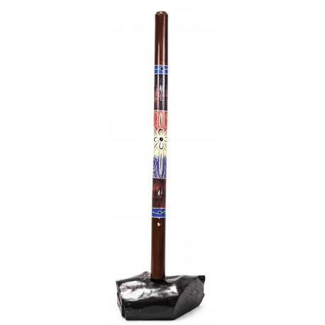 Didgeridoo Bambu Decorado 120 Ctms